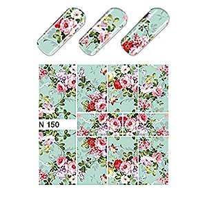 EveKa - Wasser Transfer Sticker für die Fingernägel - Aufkleber N150