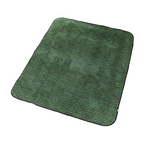 Stockage tapis de pique-nique portatives (admission directe roulé, pique-nique essentiel) ( couleur : Vert )
