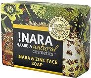 Nara Sapone con Zinco, Sapone Cosmetici Naturali fatto per la cura quotidiana del Viso e Corpo (1x80 gr), vega