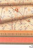 Bassetti Fong Granfoulard, Baumwolle, beige, 350 x 270 x 1 cm in