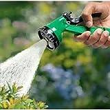 Tran Taran 10 Mtr Pressure Washing Multifunctional Water Spray Jet Gun Hose Pipe For Garden/Car/Bike/Pet Wash- Assorted Color