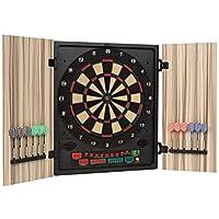 OneConcept Dartmaster 180 Dartautomat elektronische Dartscheibe E-Darts (Spielcomputer, bis zu 8 Spieler, virtueller…