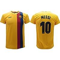 Maglia Messi 2020 Barcelona Ufficiale Away 2019 2020 in Blister Divisa Barcellona 10 Bambino Ragazzo Adulto Gialla