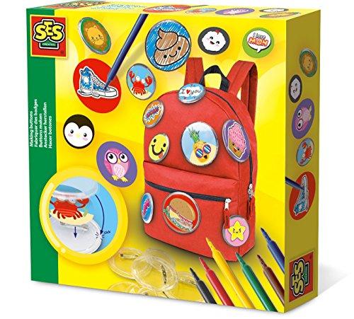 SES Creative- Fabriquer des Badges, 14004