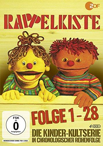 Rappelkiste - Folge 1-28 (4 DVDs)