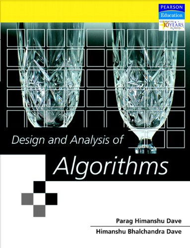 Design And Analysis Of Algorithms (Old Edition)