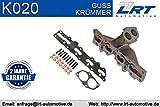 LRT K020 Krümmer, Abgasanlage