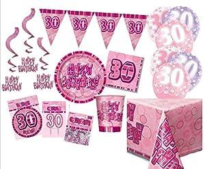 Unique Party Party Kit Color rosa 63757