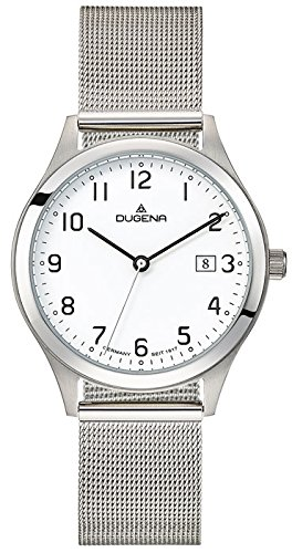 Dugena Men's Analogue Quartz Watch with Stainless Steel Strap 4460719