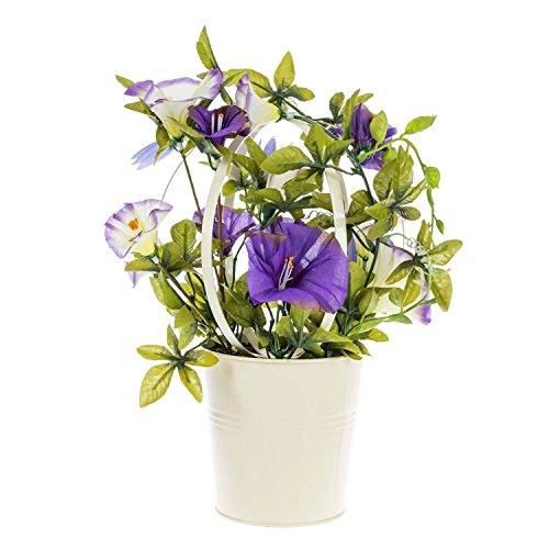 homescapes-kunstliche-blume-prunkwinde-cremeweiss-violett-28cm-hoch
