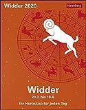 Widder Kalender 2020: Ihr Horoskop für jeden Tag