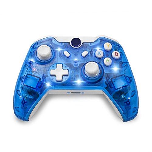 BeneGlow® Afterglow Dual Vibration Wireless Gamepad Joystick Controller für Xbox One (Slim) mit Audio Jack