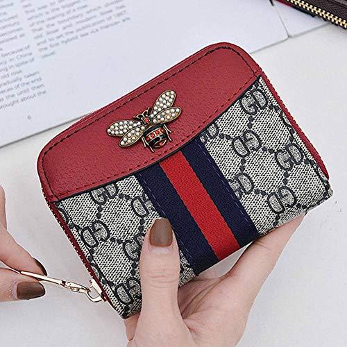 CYY Frauen Geldbörse Frauen Kurze Multi -Card Zipper Farbige Handtasche Kleine Geldbörse -