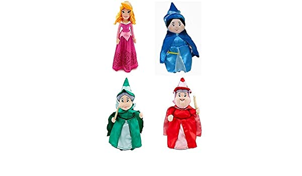 c879ae9ac877 Disney Aurora Sleeping Beauty Plush Doll Set with Fairies ...