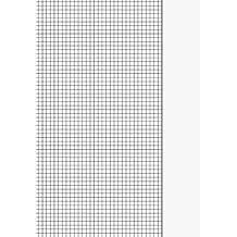 Brunnen 102142650 Kanzlei-Papier / Kanzleibogen (A4, kariert mit Rand, Lineatur 26, 80 g/m², 50 Blatt eingeschweißt)