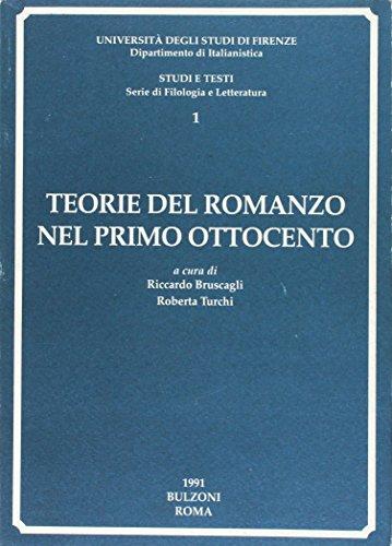 Teorie del romanzo nel primo Ottocento
