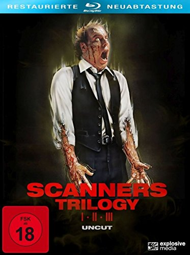 Scanners 1-3 (3-Disc Collector [Blu-ray]