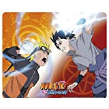 Naruto Shippuden - Mausmatte Mauspad - Naruto vs Sasuke - 23 x 19 cm