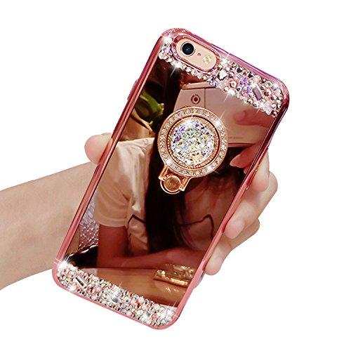 Iphone Se Hülle Iphone 5s Hülle Vandot Luxus Spiegel Glänzend