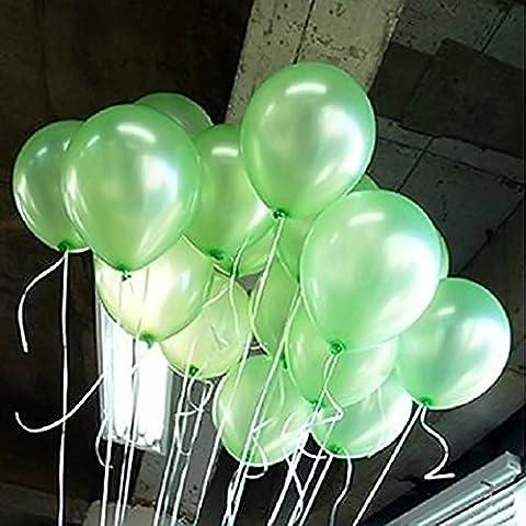 Seguryy Sachet De 100 Ballons Nacrés Perle Latex–10pouces Ballons Décoration pour Anniversaire Mariage Soirée