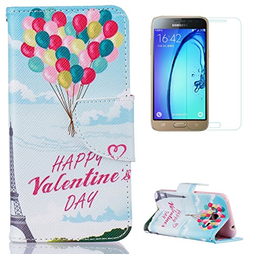 samsung-galaxy-j5-2015-j500fn-case-with-free-screen-protectorcasehome-book-style-folio-magnetic-clos