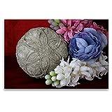 Calvendo Premium Textil-Leinwand 120 cm x 80 cm quer, Sommerkugel   Wandbild, Bild auf Keilrahmen, Fertigbild auf echter Leinwand, Leinwanddruck: Dekorative Betonkunst Hobbys Hobbys