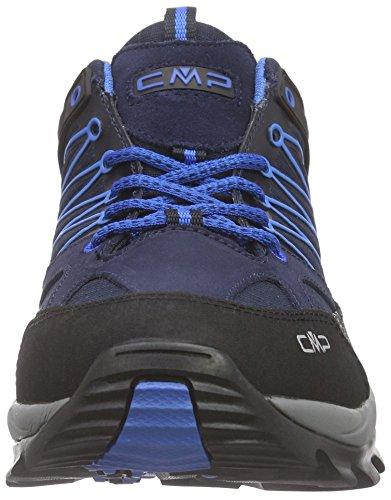 CMP C.P.M. Rigel, Chaussures de Trekking et RandonnÉe Homme Bleu (Black Blue)