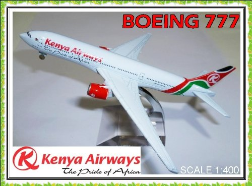 boeing-777-kenya-airways-metal-plane-model-16cm