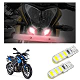 #6: Vheelocityin Scooty / Bike High Power Silicone Red Led Parking Bulbs (Set Of 2) For Bajaj Pulsar 200 Ns