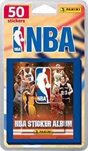 Panini - 1648-038 - Cartes à Collectionner - NBA Stickers - Blister de 10 Pochettes Stickers