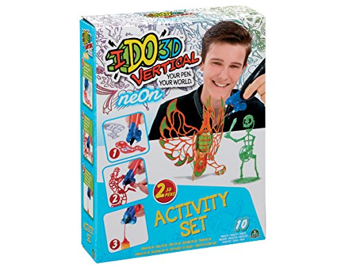 ido3d Cool Create Vertikal Get Neon Activity-Set