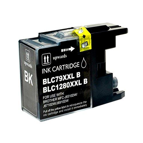 Preisvergleich Produktbild Tintenpatrone für Brother LC 1280XL schwarz - BK 73ml, kompatibel zu LC1280XLBK