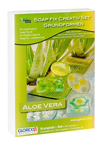 Preisvergleich Produktbild Glorex 6 1600 716 - Soap Fix Creativset Seife mit Aloe Vera