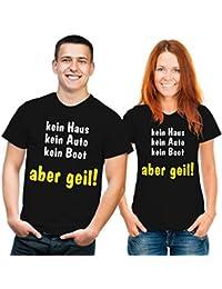 Aber Geil I Fun I Lustig I Sprüche I Girlie Shirt Kein Auto....