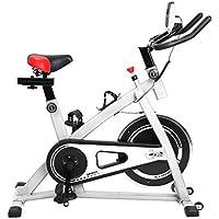 Preisvergleich für Blackpoolal Profi Indoor Cycle Heimtrainer Cycling Fahrrad Trimmrad Indoor Fitness Bike mit LCD Display Speedbike Fitnessfahrrad Fahrrad Fitnessbikes Einstellbare Fahrradtrainer Hometrainer bis 120KG
