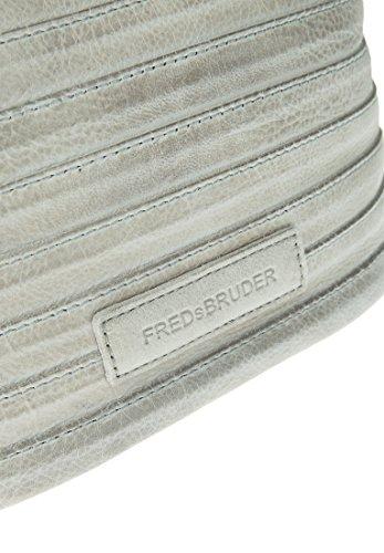 FREDSBRUDER Damen Umhängetasche GÜRTELINCHEN Streifen Light Grey