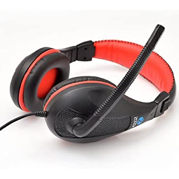Zoook ZM-H713 Headphone with Mic (Black)