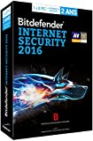 Bitdefender Internet Security 2016 (3 postes, 2 ans)