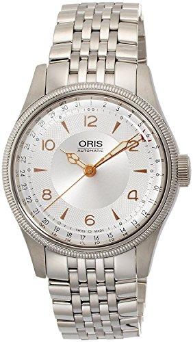 Oris gran corona puntero FECHA ORIGINAL 75476964061M reloj para hombres de [Regular importados]