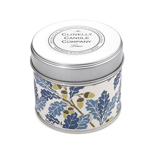 Clovelly Candle Co. Natürliche Handgefertigte Duftende große Dosenkerze Limette aus Sojawachs