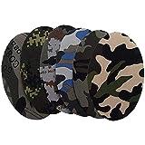 Anjing 12PCS Camouflage Oval Form Stoff Patches für Reparatur Schnittmuster Ellenbogen Knie Eisen auf Applikationen