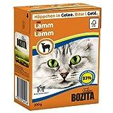 Bozita | Feline Häppchen in Gelee mit Lamm | 16 x 370 g