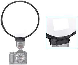 Ginni 30cm/12inch Portable Round Studio Softbox Photography Flash Diffuser Softbox