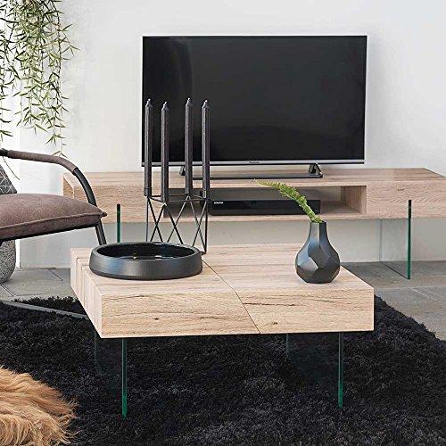 Pharao24 Tisch aus Holz 180 cm Breit,76 cm Hoch,90 cm Tief