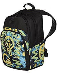 Quiksilver Burst Backpack bp cave rave neon yellow / motifs Taille UNI