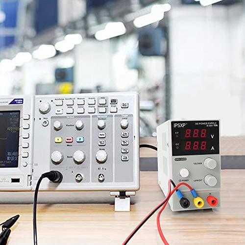 0-10A IPSXP Alimentatore da Laboratorio DC Regolabile Stabilizzato Alimentatore da Banco 0-30V