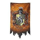 TianLinPT Harry Potter Gryffindor/Slytherin/Hufflepuff/Ravenclaw/Hogwarts Wand Banner Flag House Dekoration für Bar, Club, Wohnzimmer, Schlafzimmer (70x120cm)