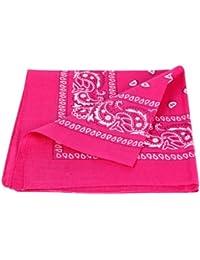 Alsino zandana Pañuelo Pañuelo Bandana Paisley costura 100% algodón