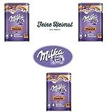 3 x 400 Gramm Milka Kakao Schokolade zum Auflösen in warmer oder kalter Milch