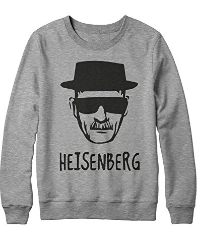g Walter White Breaking Bad Crytal Meth C653369 Grau S (Breaking Bad Cosplay Kostüm)